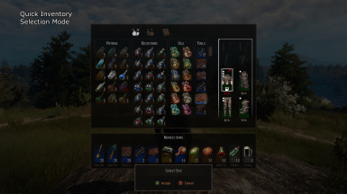 Quick Inventory - Selection Mode
