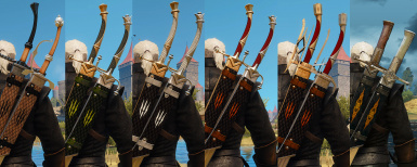 Witcher Silver Sabres