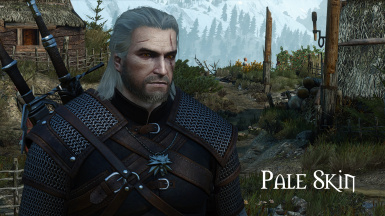 Pale Face Geralt