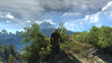 Volumetric clouds over Skellige at The Witcher 3 Nexus - Mods and