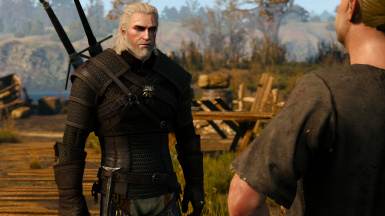 More white hairs for Geralt