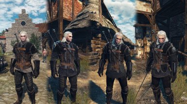 Griffin Armour Retexture Witcher on the Path-Style