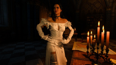 Alternative Look For Ciri And Yennefer Recolored At The Witcher 3 Nexus Mods And Community