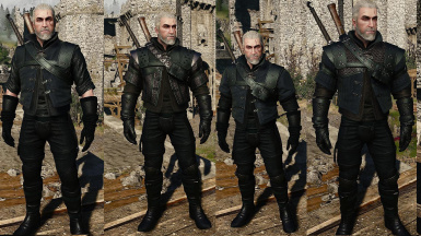 Witcher 3 Armor Wolf School RECOLORED