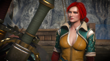 Blue eyes for Triss - Fix