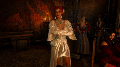 Triss Outfit RECOLORED at The Witcher 3 Nexus - Mods and