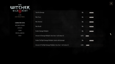 God Mode - Play How You Want To at The Witcher 3 Nexus - Mods and