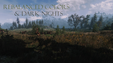 Rebalanced colors and Dark nights
