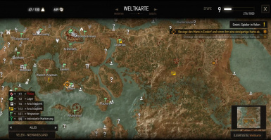 No gps on 122 traditional world map at the witcher 3 nexus mods file information gumiabroncs Images