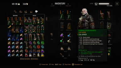 how to get grandmaster witcher gear