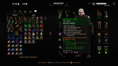 Leveling Grandmaster and Viper Witcher Gear for v1.22