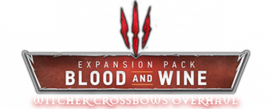 Witcher Crossbows Overhaul