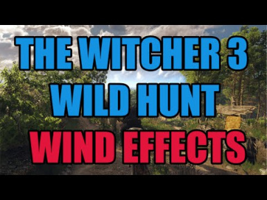 More Realistic Wind Effect