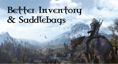 Better Inventory And Saddlebags