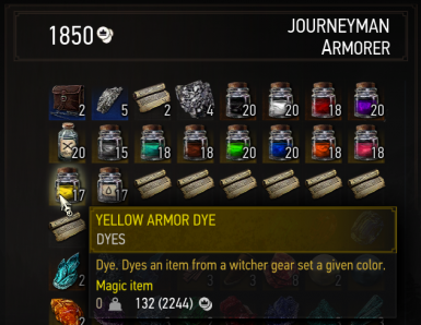 Cheap dyes everywhere