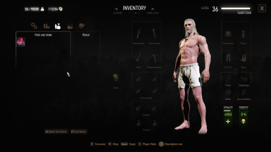 The Witcher 3 Mod Cook Raw Meat to Fried Meat and other foods at The