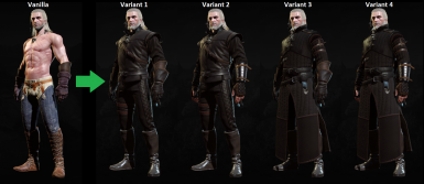 Better complete Assassin's armor and weapon set varieties