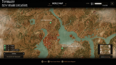 Toussaint Stash Locations