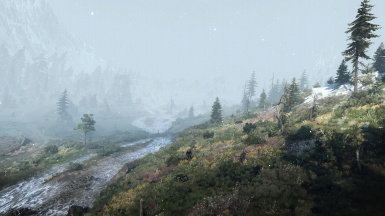 Snow in Skellige