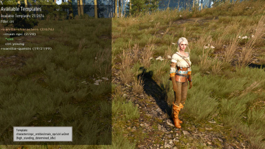 sbui asset mode actor selection filtered