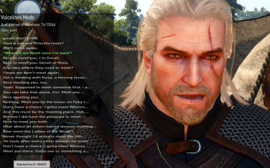 sbui voicelines mode filtered geralt