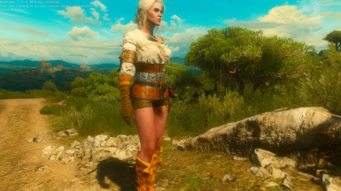 Remodeled Outfit for Ciri