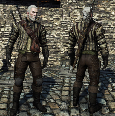 more robes armor(pants from W2 promo armor)