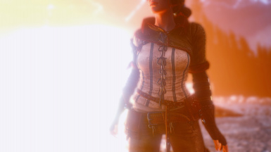 Triss with TW2 outfit 2