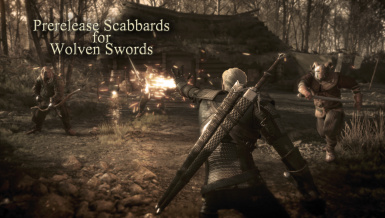 Prerelease Scabbards for Wolven Swords