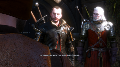 Lambert and Geralt doing some fuckin buzinass
