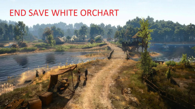 End save white orchard
