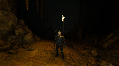 Floating Torch - With Radius Options.