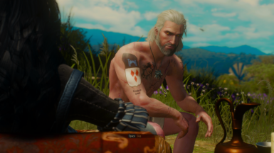 Lore Appropriate Tattoos for Geralt