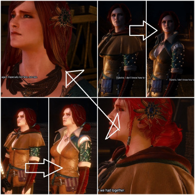 Triss Hood Removal
