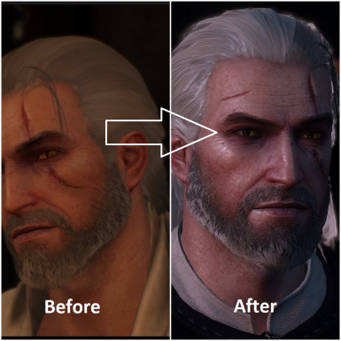 Geralt Cinematic Hair At The Witcher 3 Nexus Mods And