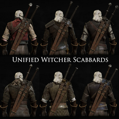 Unified Witcher Scabbards