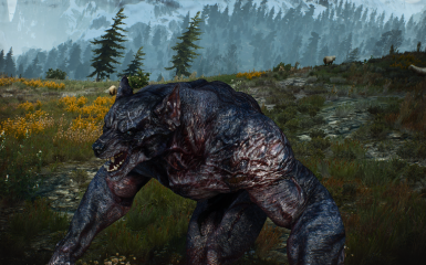 Witcher 3 Werwolf