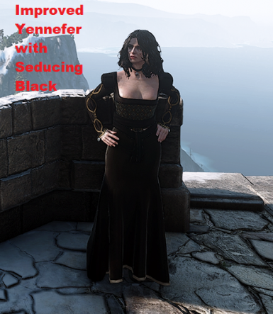 Improved Yennefer with Seducing Black