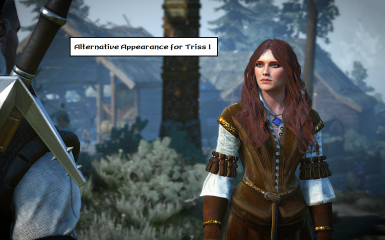 Alternative Outfits and Appearance for Triss (Sapkowski