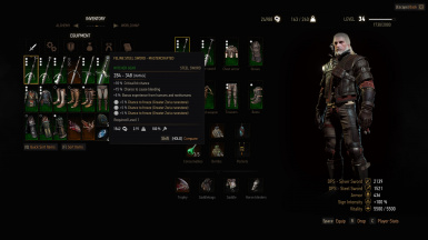 Unrestricted Witcher (and Crafting) Gear v3