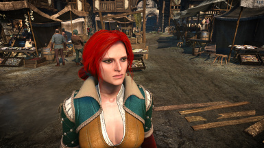 Witcher 2 Triss head