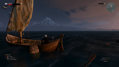 Working v1.5 with Lamp on Player's boat mod
