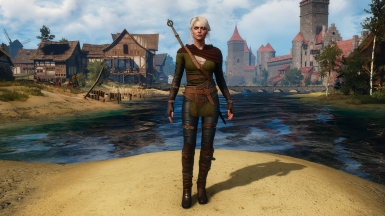 Ciri - Alternative look at The Witcher 3 Nexus - Mods and