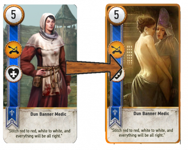 TW1 Romance Cards (Gwent Cards Replacer) at The Witcher 3