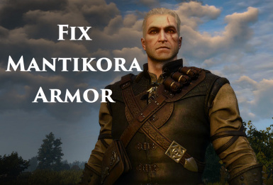 Fix Manticore Armor