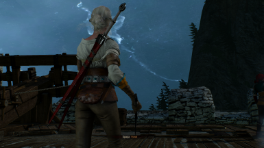 Ciri Cutscenes sword bug fix