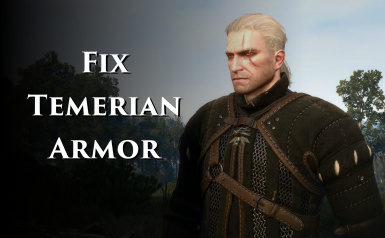 Fix Temerian Armor and Retexture