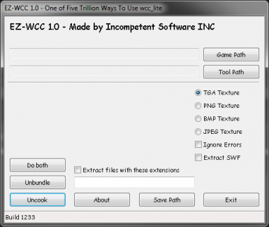 EZ-WCC - Easier and Redundant GUI for wcc_lite