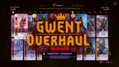 Gwent Overhaul and Faster Gwent