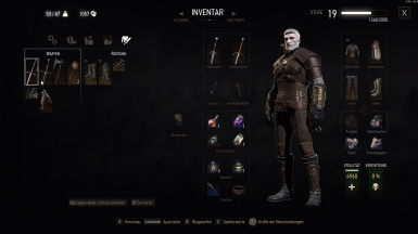 first time above 1000 Crowns cash. Geralt feels rich.